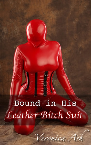 Book Cover for Bound in His Leather Bitch Suit (by Veronica Ash)