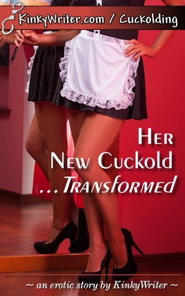 Book Cover for Her New Cuckold ... Transformed (by KinkyWriter)