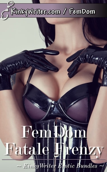 Book Cover for FemDom Fatale Frenzy (by KinkyWriter)