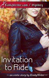 Book Cover for Invitation to Ride (by KinkyWriter)