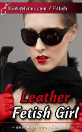 Book Cover for Leather Fetish Girl (by KinkyWriter)