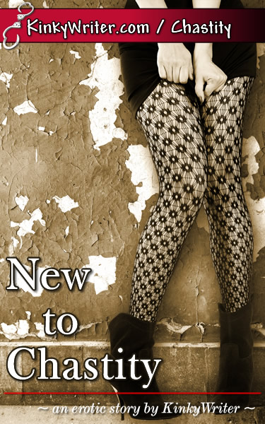 Book Cover for New to Chastity (by KinkyWriter)