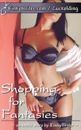 Book Cover for Shopping for Fantasies (by KinkyWriter)