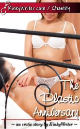 Book Cover for The Plastic Anniversary (by KinkyWriter)