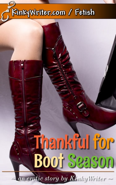 Book Cover for Thankful for Boot Season (by KinkyWriter)