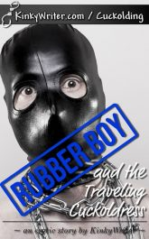 Book Cover for Rubber Boy and the Traveling Cuckoldress (KinkyWriter)