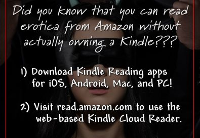 Did you know that you can read erotica from Amazon without actually owning a Kindle???