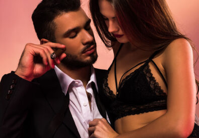 Cover Preview for Drinks with Her Ex, and a Pink Chastity Cage (by KinkyWriter)