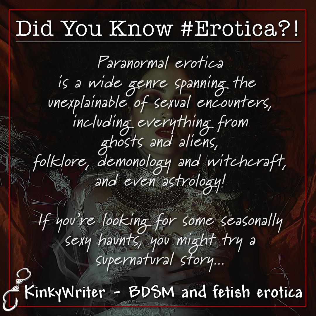 Did You Know #Erotica?! - Paranormal Edition
