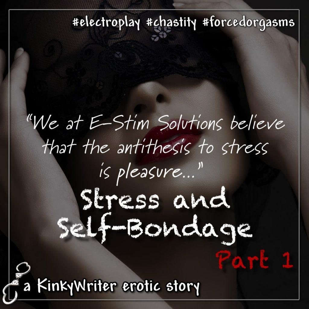 """We at E-Stim Solutions believe that the antithesis to stress is pleasure..."""